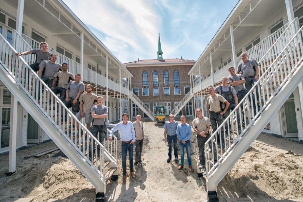Aannemer binnenstedelijke bouw - Schadenberg Bouw