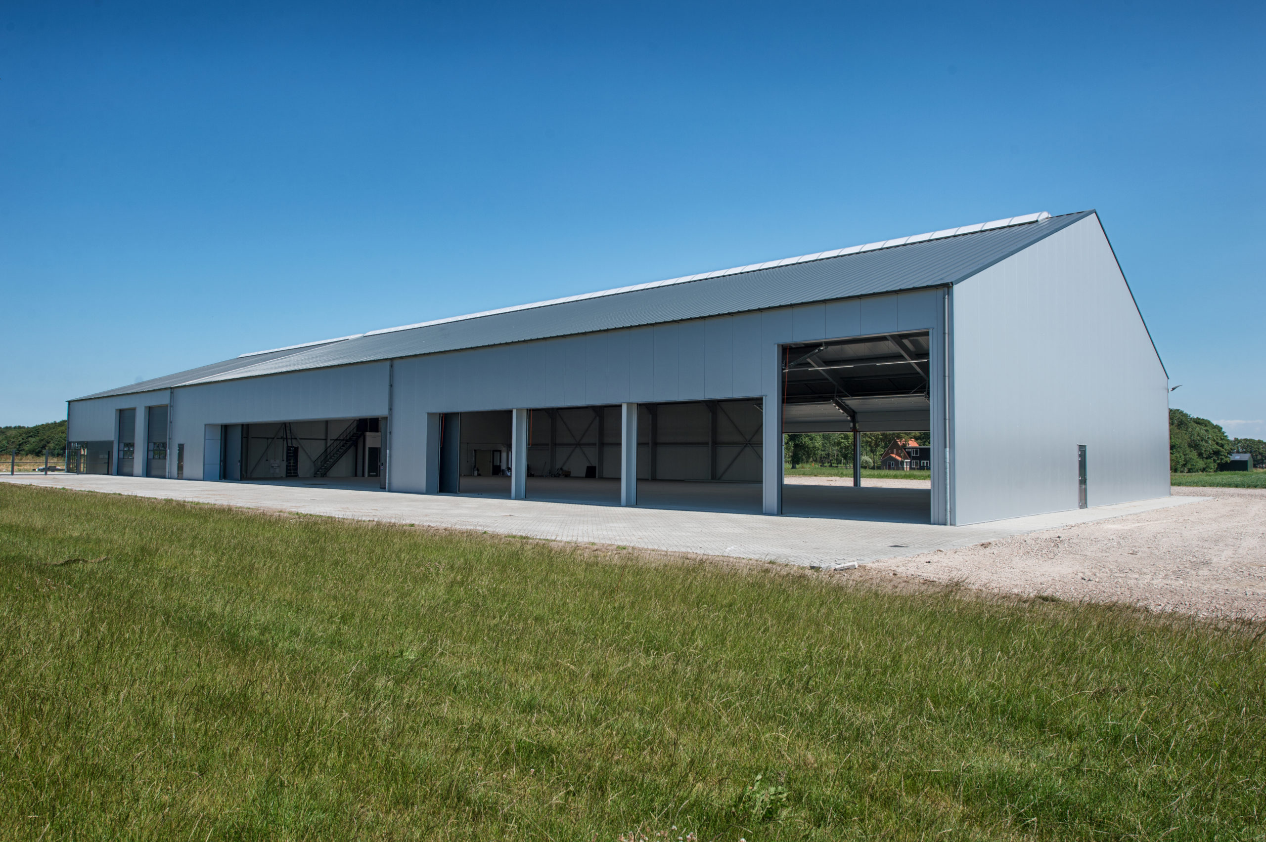 Nieuwbouw Zweefvliegcentrum Slootdorp - Archangel Bouw